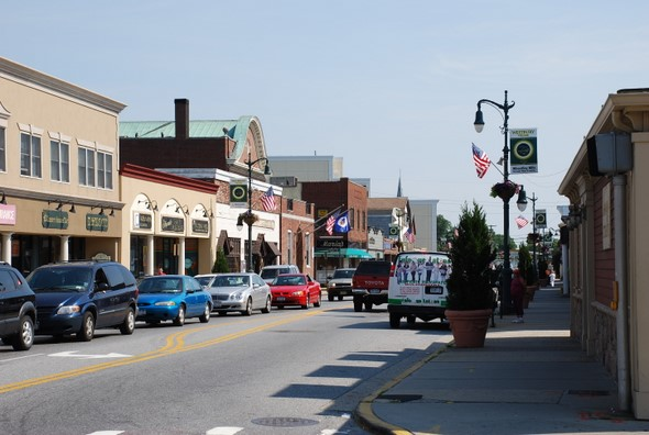 Downtown Westbury, New York (in Long Island)