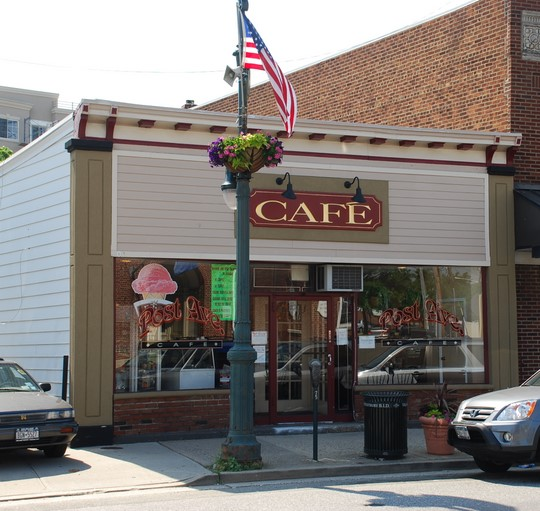 Post Ave Café in Westbury, New York